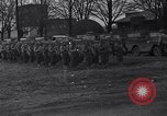 Image of American soldiers in full battle gear United States USA, 1943, second 2 stock footage video 65675031860