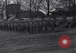 Image of American soldiers in full battle gear United States USA, 1943, second 4 stock footage video 65675031860
