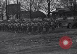 Image of American soldiers in full battle gear United States USA, 1943, second 5 stock footage video 65675031860