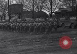 Image of American soldiers in full battle gear United States USA, 1943, second 6 stock footage video 65675031860