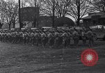 Image of American soldiers in full battle gear United States USA, 1943, second 8 stock footage video 65675031860