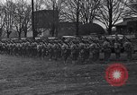 Image of American soldiers in full battle gear United States USA, 1943, second 9 stock footage video 65675031860