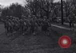 Image of American soldiers in full battle gear United States USA, 1943, second 11 stock footage video 65675031860