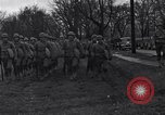 Image of American soldiers in full battle gear United States USA, 1943, second 12 stock footage video 65675031860
