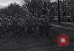 Image of American soldiers in full battle gear United States USA, 1943, second 13 stock footage video 65675031860