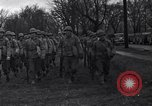 Image of American soldiers in full battle gear United States USA, 1943, second 14 stock footage video 65675031860
