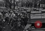Image of American soldiers in full battle gear United States USA, 1943, second 17 stock footage video 65675031860