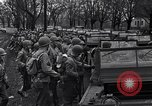Image of American soldiers in full battle gear United States USA, 1943, second 19 stock footage video 65675031860