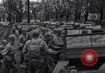 Image of American soldiers in full battle gear United States USA, 1943, second 20 stock footage video 65675031860