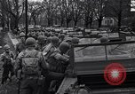 Image of American soldiers in full battle gear United States USA, 1943, second 22 stock footage video 65675031860