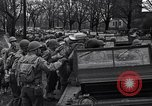 Image of American soldiers in full battle gear United States USA, 1943, second 23 stock footage video 65675031860