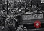 Image of American soldiers in full battle gear United States USA, 1943, second 24 stock footage video 65675031860