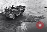 Image of Amphibious jeeps United States USA, 1943, second 59 stock footage video 65675031863
