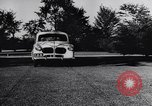Image of Michigan manufacturer displays new automobile Michigan United States USA, 1941, second 3 stock footage video 65675031875