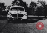 Image of Michigan manufacturer displays new automobile Michigan United States USA, 1941, second 5 stock footage video 65675031875