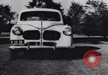 Image of Michigan manufacturer displays new automobile Michigan United States USA, 1941, second 6 stock footage video 65675031875