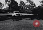 Image of Michigan manufacturer displays new automobile Michigan United States USA, 1941, second 19 stock footage video 65675031875