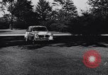 Image of Michigan manufacturer displays new automobile Michigan United States USA, 1941, second 21 stock footage video 65675031875