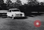 Image of Michigan manufacturer displays new automobile Michigan United States USA, 1941, second 23 stock footage video 65675031875
