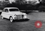Image of Michigan manufacturer displays new automobile Michigan United States USA, 1941, second 24 stock footage video 65675031875