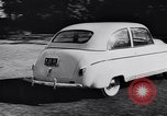 Image of Michigan manufacturer displays new automobile Michigan United States USA, 1941, second 28 stock footage video 65675031875