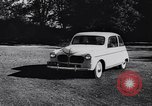 Image of Michigan manufacturer displays new automobile Michigan United States USA, 1941, second 31 stock footage video 65675031875