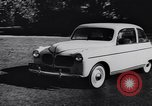 Image of Michigan manufacturer displays new automobile Michigan United States USA, 1941, second 32 stock footage video 65675031875