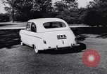Image of Michigan manufacturer displays new automobile Michigan United States USA, 1941, second 36 stock footage video 65675031875