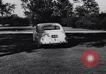 Image of Michigan manufacturer displays new automobile Michigan United States USA, 1941, second 37 stock footage video 65675031875