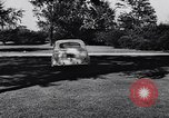 Image of Michigan manufacturer displays new automobile Michigan United States USA, 1941, second 38 stock footage video 65675031875