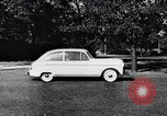 Image of Michigan manufacturer displays new automobile Michigan United States USA, 1941, second 53 stock footage video 65675031875