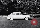 Image of Michigan manufacturer displays new automobile Michigan United States USA, 1941, second 54 stock footage video 65675031875