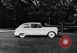 Image of Michigan manufacturer displays new automobile Michigan United States USA, 1941, second 55 stock footage video 65675031875
