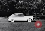 Image of Michigan manufacturer displays new automobile Michigan United States USA, 1941, second 56 stock footage video 65675031875