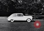 Image of Michigan manufacturer displays new automobile Michigan United States USA, 1941, second 57 stock footage video 65675031875