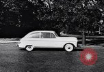 Image of Michigan manufacturer displays new automobile Michigan United States USA, 1941, second 58 stock footage video 65675031875