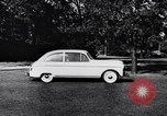 Image of Michigan manufacturer displays new automobile Michigan United States USA, 1941, second 59 stock footage video 65675031875