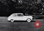 Image of Michigan manufacturer displays new automobile Michigan United States USA, 1941, second 60 stock footage video 65675031875
