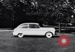 Image of Michigan manufacturer displays new automobile Michigan United States USA, 1941, second 61 stock footage video 65675031875