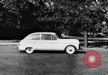 Image of Michigan manufacturer displays new automobile Michigan United States USA, 1941, second 62 stock footage video 65675031875