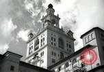 Image of Hotel buildings Coral Gables section of Miami Florida USA, 1936, second 2 stock footage video 65675031882