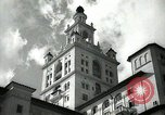 Image of Hotel buildings Coral Gables section of Miami Florida USA, 1936, second 3 stock footage video 65675031882