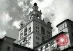 Image of Hotel buildings Coral Gables section of Miami Florida USA, 1936, second 4 stock footage video 65675031882