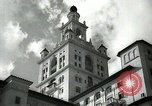 Image of Hotel buildings Coral Gables section of Miami Florida USA, 1936, second 8 stock footage video 65675031882
