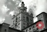 Image of Hotel buildings Coral Gables section of Miami Florida USA, 1936, second 14 stock footage video 65675031882