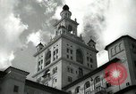 Image of Hotel buildings Coral Gables section of Miami Florida USA, 1936, second 15 stock footage video 65675031882