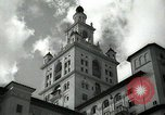 Image of Hotel buildings Coral Gables section of Miami Florida USA, 1936, second 16 stock footage video 65675031882