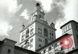 Image of Hotel buildings Coral Gables section of Miami Florida USA, 1936, second 19 stock footage video 65675031882