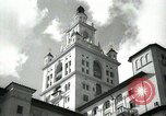 Image of Hotel buildings Coral Gables section of Miami Florida USA, 1936, second 20 stock footage video 65675031882