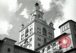 Image of Hotel buildings Coral Gables section of Miami Florida USA, 1936, second 21 stock footage video 65675031882